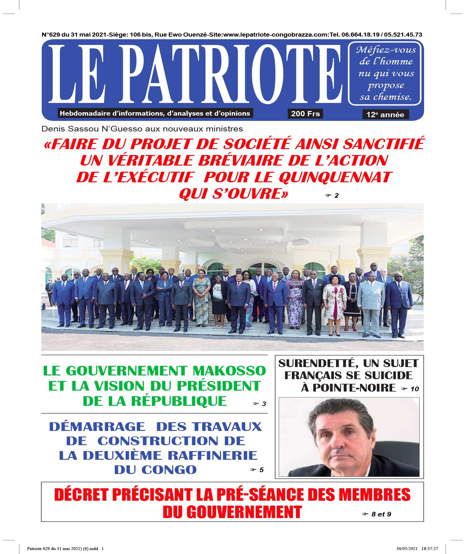 Cover Le Patriote - 629