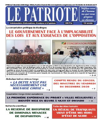 Cover Le Patriote - 604