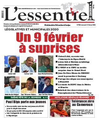 Cover L'Essentiel du Cameroun - 283