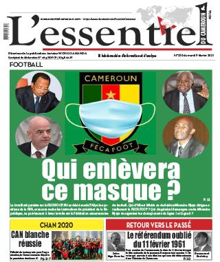 Cover L'Essentiel du Cameroun - 330