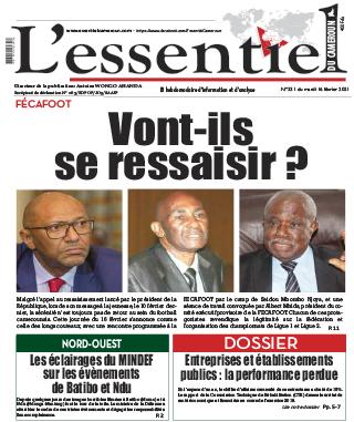 Cover L'Essentiel du Cameroun - 331