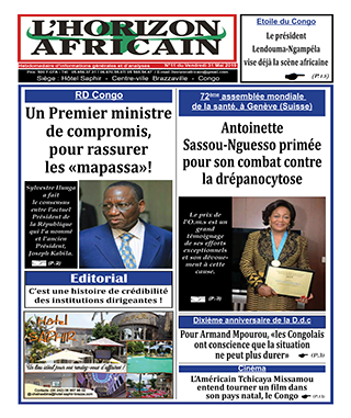 Cover L'horizon Africain - 11
