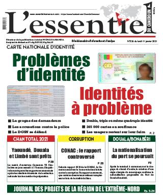 Cover L'Essentiel du Cameroun - 326