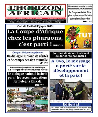 Cover L'horizon Africain - 13