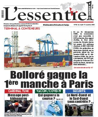 Cover L'Essentiel du Cameroun - 321