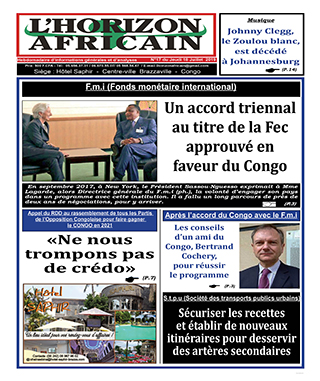 Cover L'horizon Africain - 17