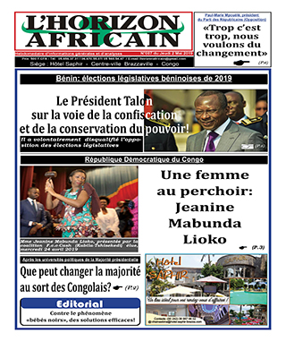 Cover L'horizon Africain - 7