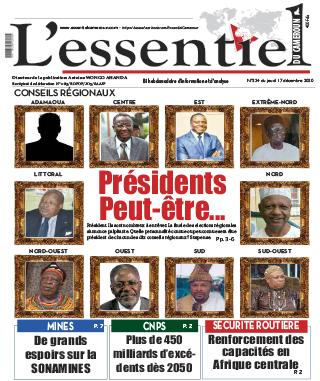 Cover L'Essentiel du Cameroun - 324