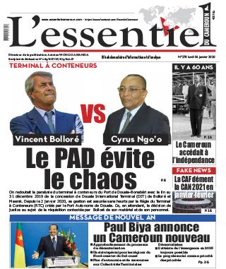 Cover L'Essentiel du Cameroun - 278