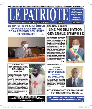 Cover Le Patriote - 611