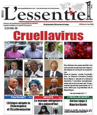 Cover L'Essentiel du Cameroun - 290