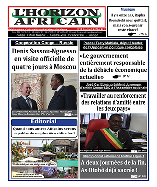 Cover L'horizon Africain - 10