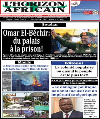 Cover L'horizon Africain - 005