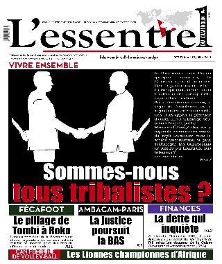 Cover L'Essentiel du Cameroun - 253