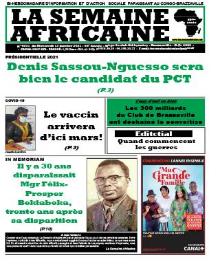 Cover La Semaine Africaine - 4031