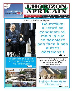 Cover L'horizon Africain - 000
