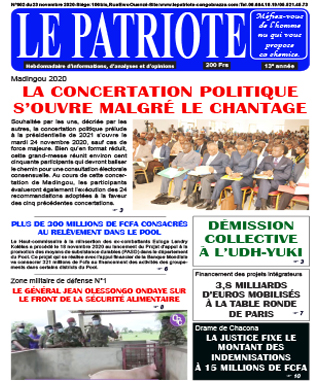 Cover Le Patriote - 602