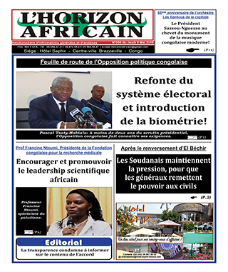 Cover L'horizon Africain - 8