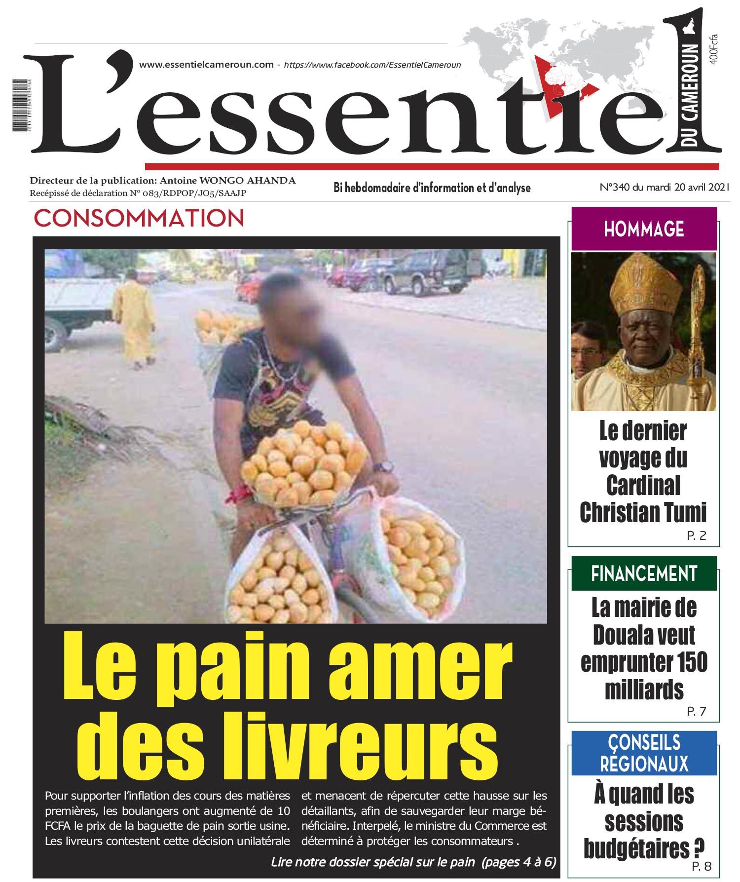 Cover L'Essentiel du Cameroun - 340
