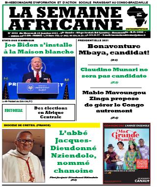 Cover La Semaine Africaine - 4032