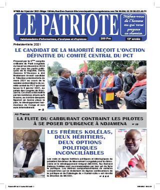 Cover Le Patriote - 609