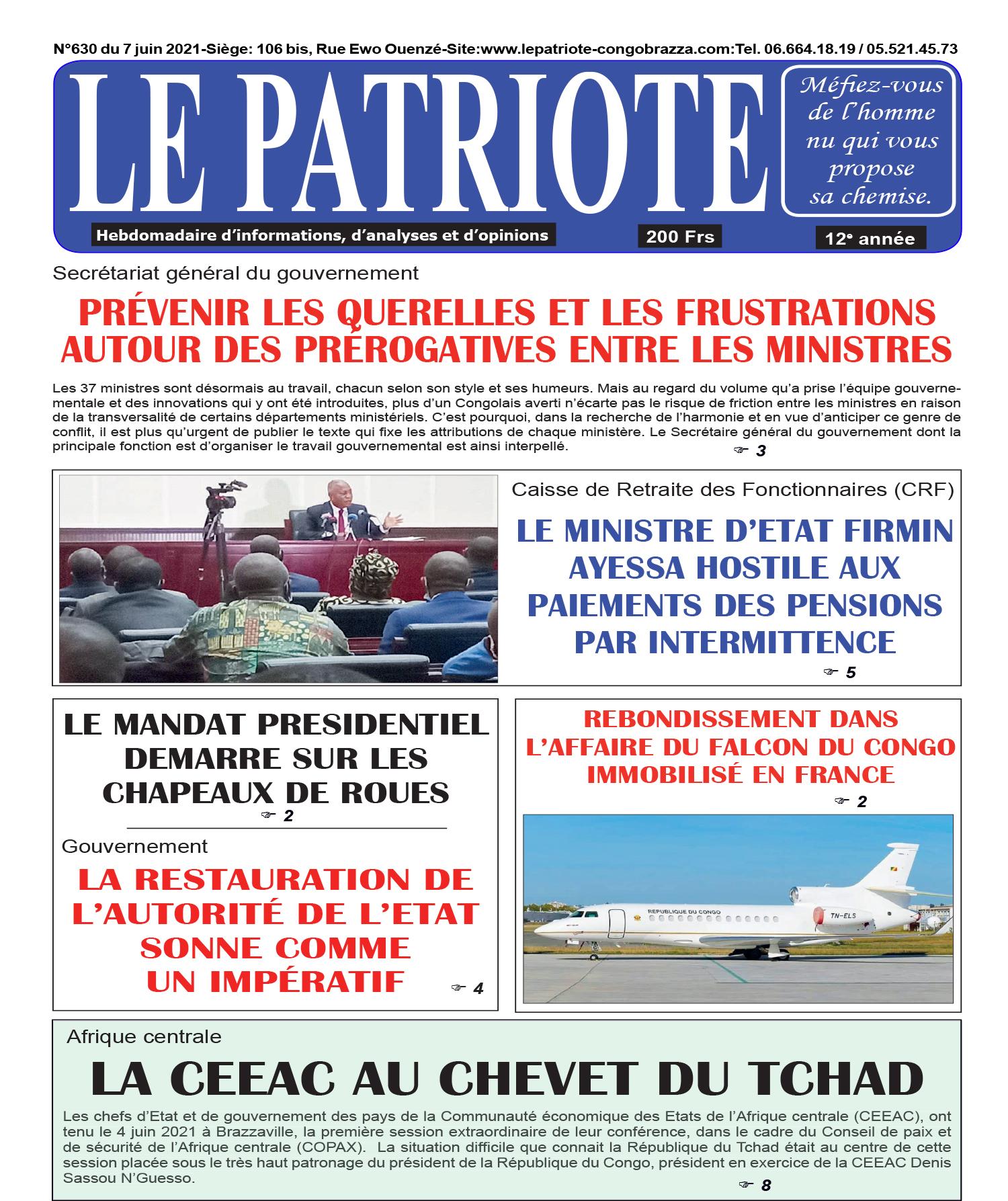 Cover Le Patriote - 630