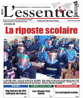 Cover L'Essentiel du Cameroun - 296