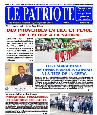 Cover Le Patriote - 603