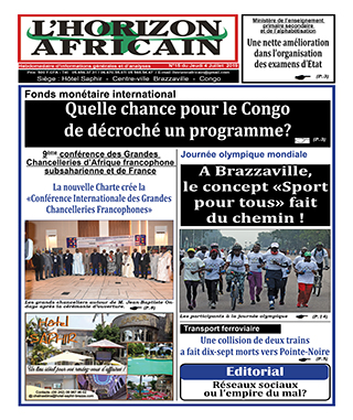 Cover L'horizon Africain - 15