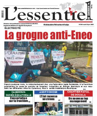 Cover L'Essentiel du Cameroun - 300