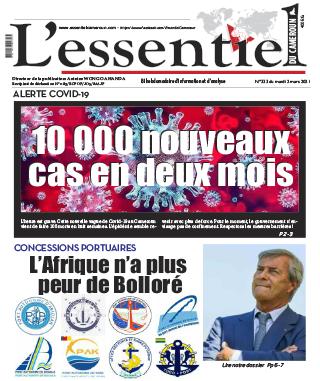 Cover L'Essentiel du Cameroun - 333