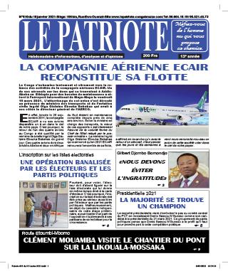 Cover Le Patriote - 610
