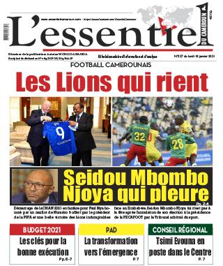 Cover L'Essentiel du Cameroun - 327