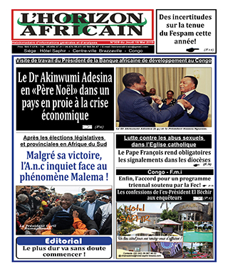 Cover L'horizon Africain - 9
