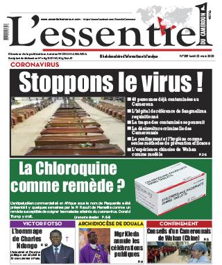 Cover L'Essentiel du Cameroun - 289