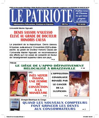 Cover Le Patriote - 601