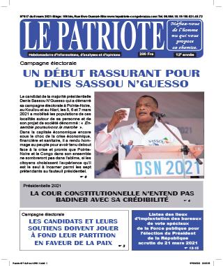 Cover Le Patriote - 617