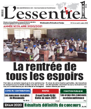 Cover L'Essentiel du Cameroun - 316