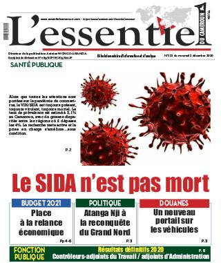 Cover L'Essentiel du Cameroun - 323