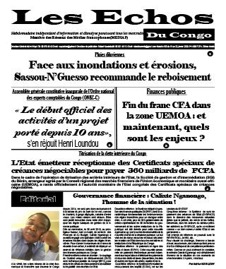 Cover Les Echos - 565